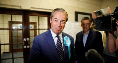 First local results shows Brexit party leading in UK European elections