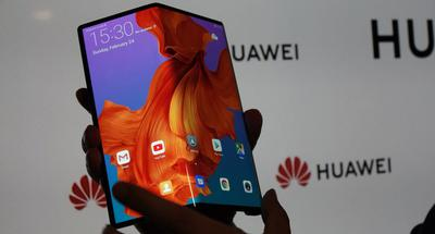 Second Huawei handset licensed to use China's 5G network