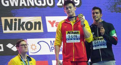 FINA to send warning to Australian swimming body and Mack Horton