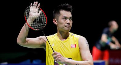 China's Lin Dan labors to first round win at badminton worlds