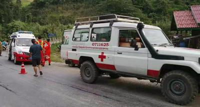 At least 8 killed in bus crash in northern Laos