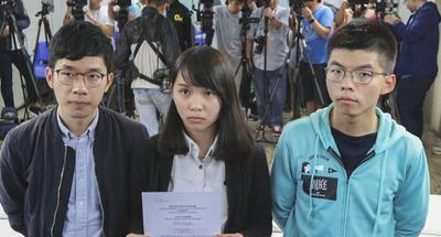 3 leaders of Hong Kong groups advocating