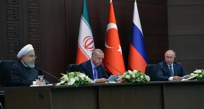 Turkey, Russia, Iran focus on Syria's Idlib, agree on need of new measures