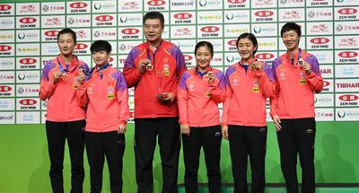 Team China win women's final at 2019 ITTF Team World Cup