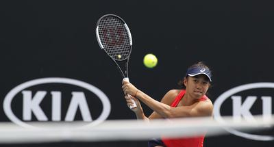 Confident Zhang Shuai through to round 3 at Australian Open