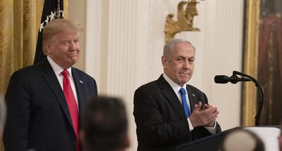 Trump unveils controversial Middle East peace plan