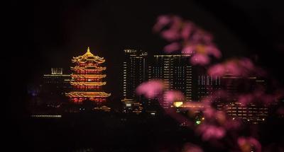 Night view in Wuhan, Hubei