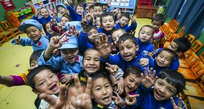 All rural children in Xinjiang have access to free pre-school education