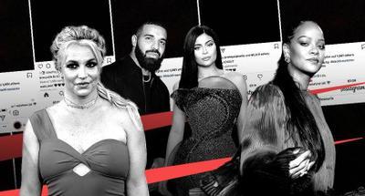 Celebrities post black squares on social media to spotlight police brutality