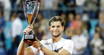 Dominic Thiem lifts trophy of Adria Tour in Belgrade