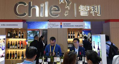 CIIE bolsters popularity of Chilean wine
