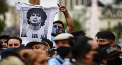 Maradona buried as Argentina pays last respects to legend