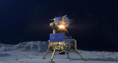 China's spacecraft takes off from moon with samples