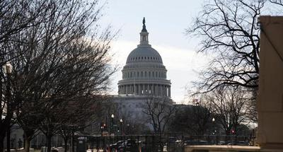 Entire U.S. Capitol complex on lockdown due to nearby fire