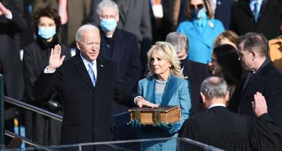 Biden sworn in as 46th U.S. president, calls for national unity amid bitter division