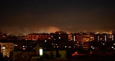 Israel attacks vicinity of Syrian capital