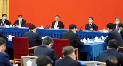 Chinese leaders join discussions with political advisors