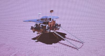 China succeeds in first Mars landing