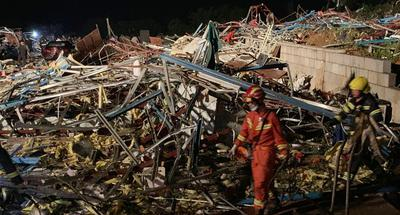 6 dead, 218 injured after tornado hits Wuhan