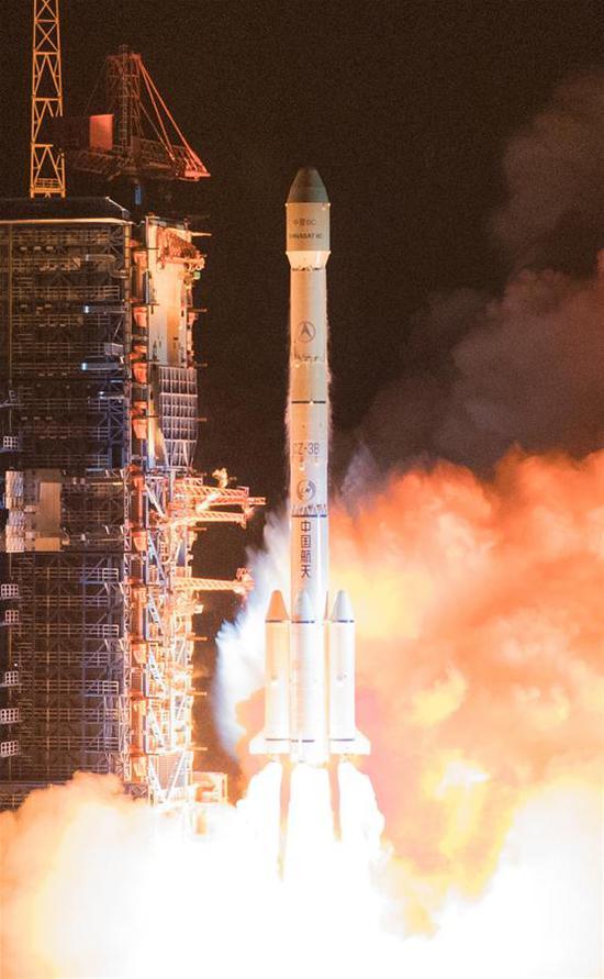 中国发射新通信卫星