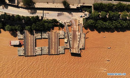 预计洪水将很快到达山东济南。 3