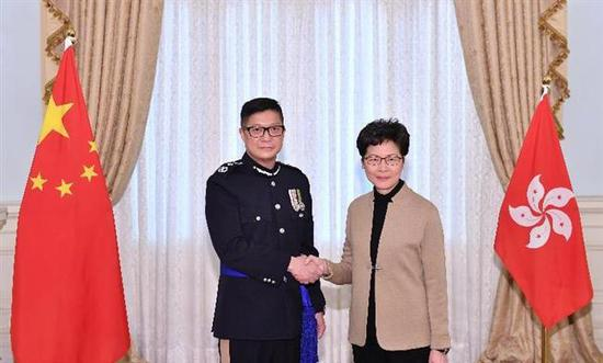 New Hong Kong police commissioner appointed