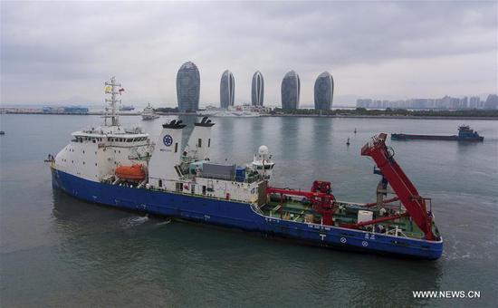 中国新型载人潜水器完成远征任务 2