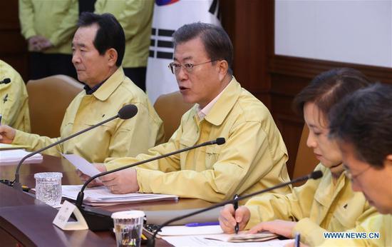 S、 韩国将病毒警报提高到最高水平,因COVID-19病例激增