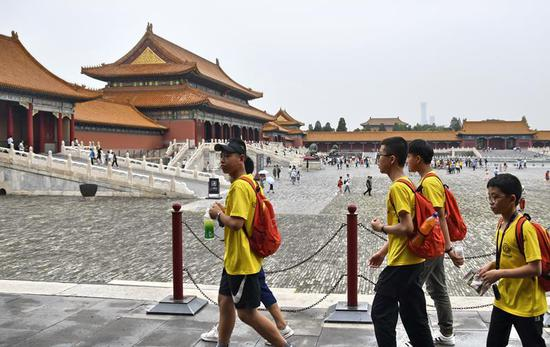 Palace Museum improves visitor experience during peak season