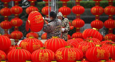 Upcoming Lantern Festival marked in China's Hubei