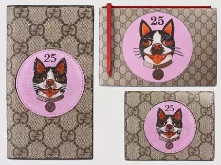 Gucci Limited Editions for the Year of the Dog. /Sohu Photo