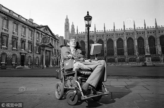 Stephen Hawking dies at age of 76