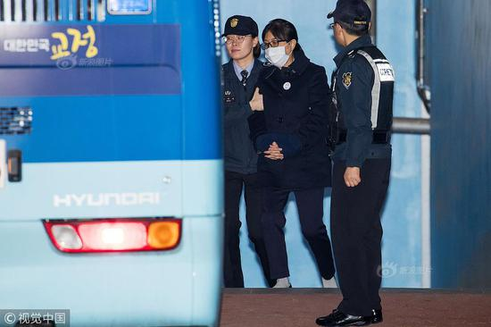 Choi Soon-sil jailed for 20 years for role in scandal