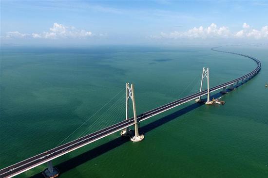 Major tunnel of HK-Zhuhai-Macao Bridge completed