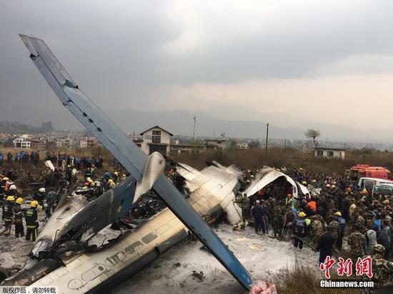 49 dead in US-Bangla passenger plane crash in Nepal