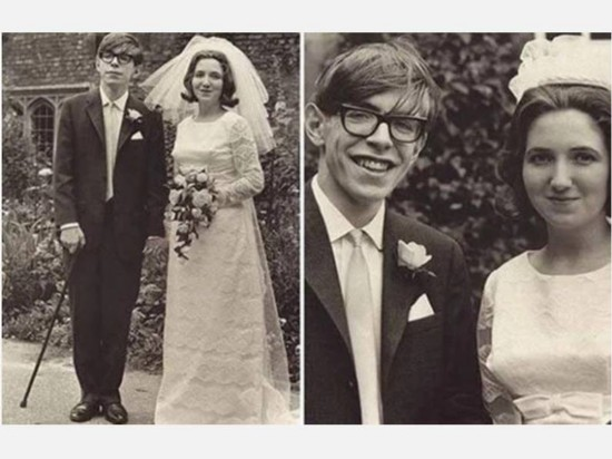 Stephen Hawking and his first wife