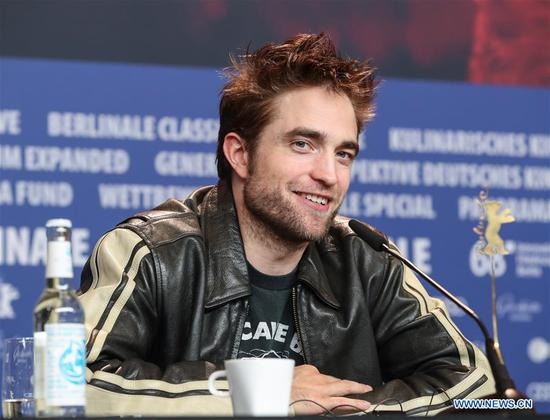 Actor Robert Pattinson attends a press conference of film