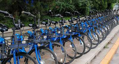 Bluegogo bikes back on streets