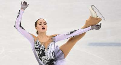 Russian figure skaters dominate women's short program at PyeongChang Olympics