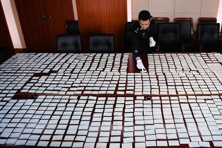 Nanjing police bust fake train ticket ring