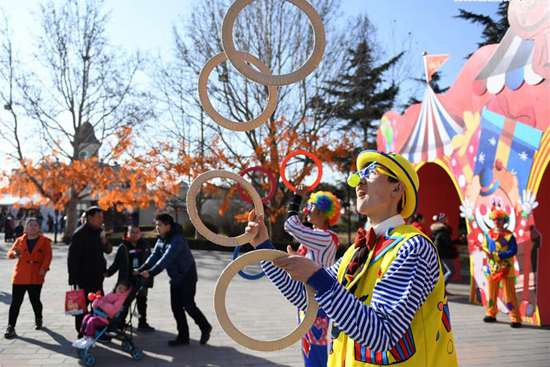 Temple fair held in Beijing to celebrate Spring Festival