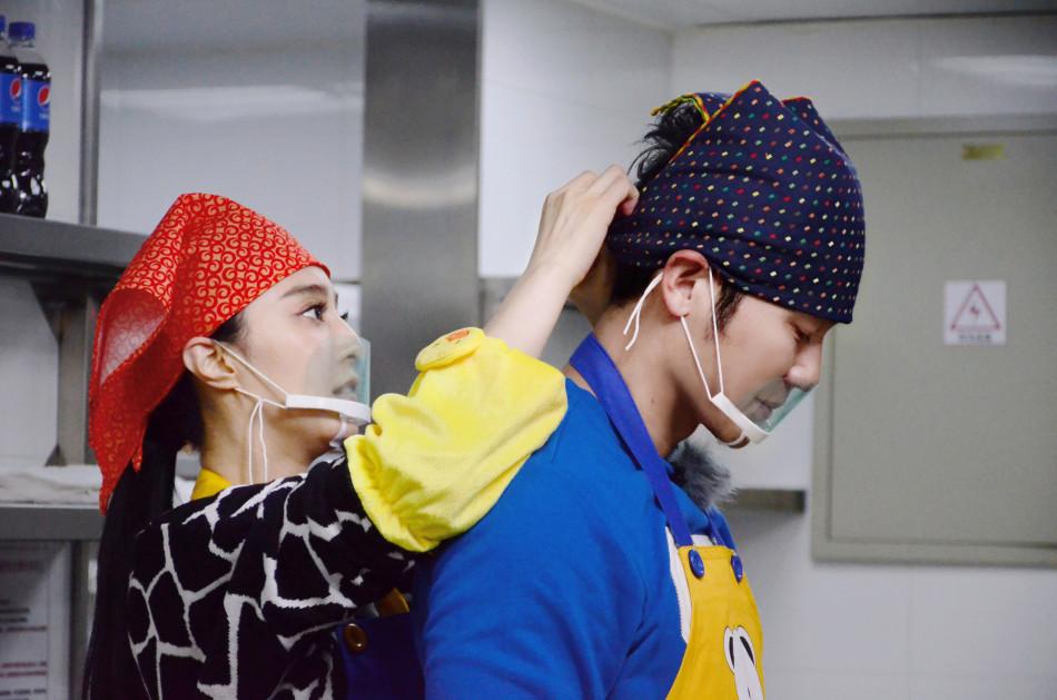 《挑战者》范冰冰变厨娘 与李晨合作默契