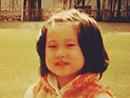 吴绮莉晒女儿5岁萌照
