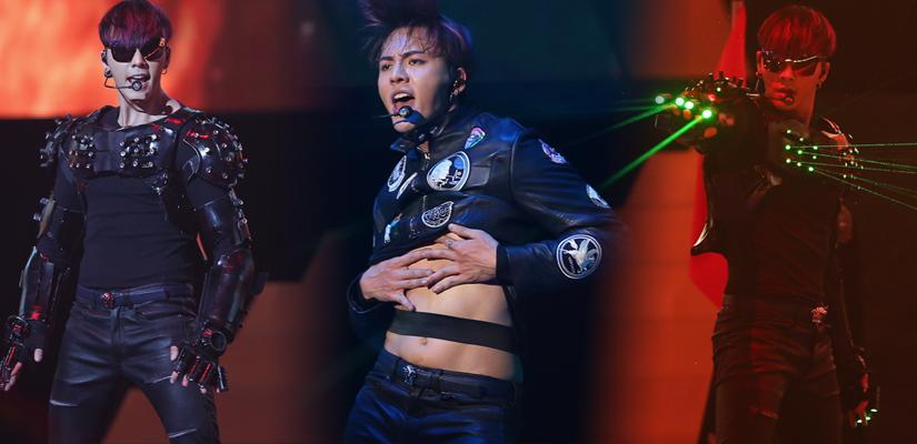 陈伟霆北京演唱会首唱:我不只是大师兄和张大佛爷
