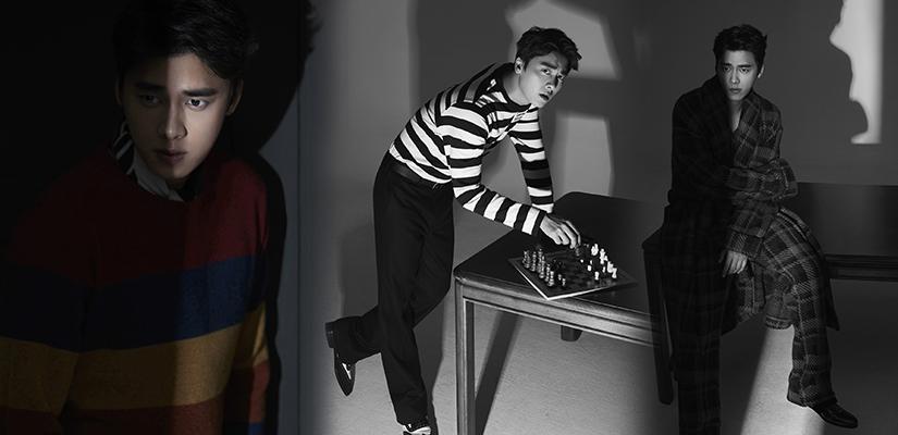 李易峰最新大片上演眼神杀 硬朗有型诠释时尚icon