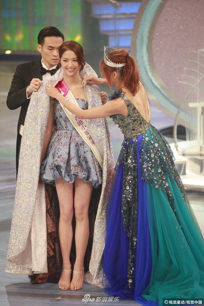"""018香港小姐三甲出炉!陈晓华成功摘得港姐后冠"""""""