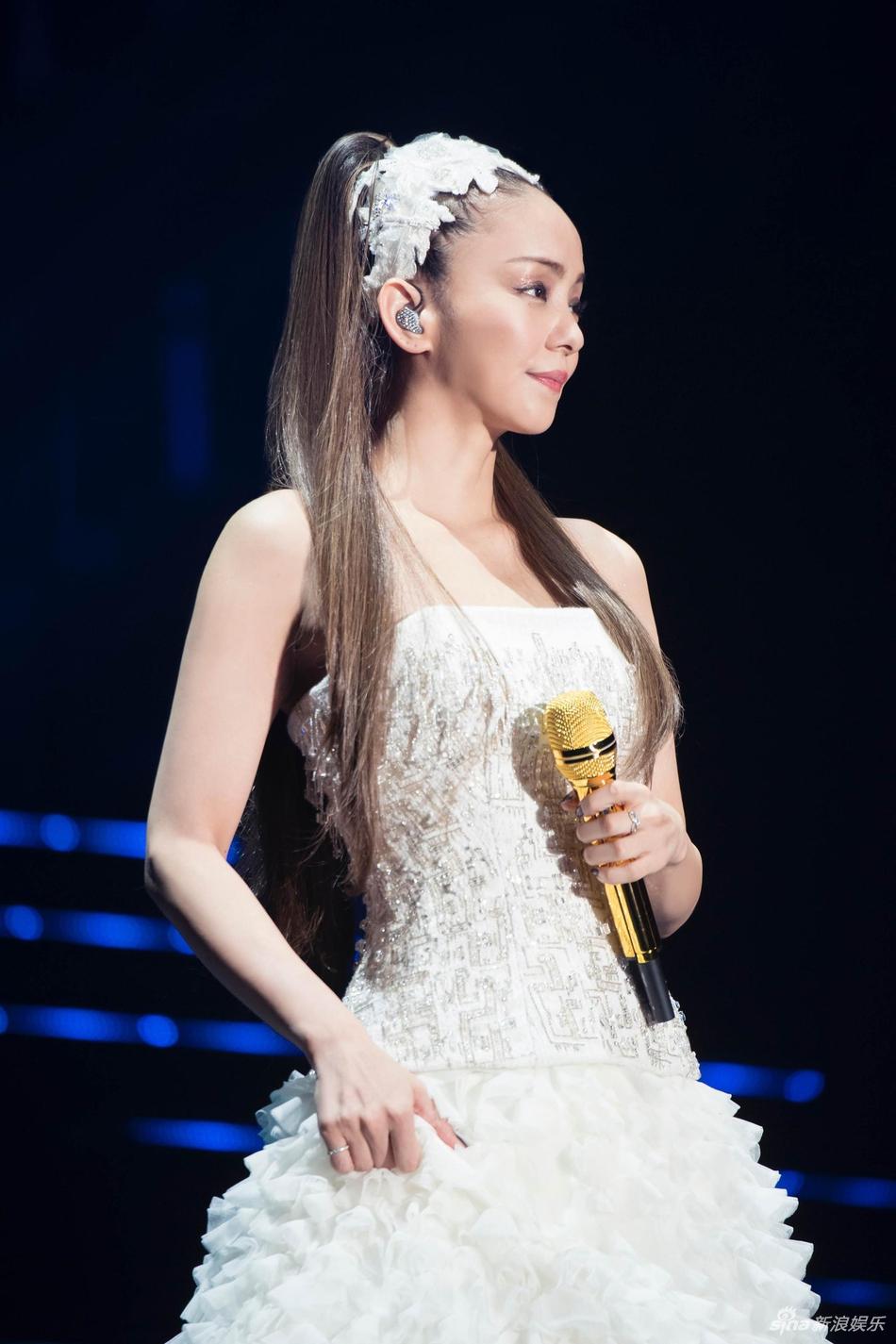 安室奈美惠泪崩谢台湾歌迷