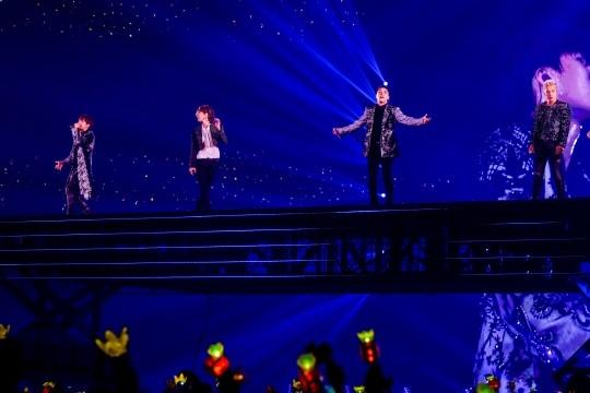 BIGBANG连续五年日本巨蛋巡演 动员420万名观众
