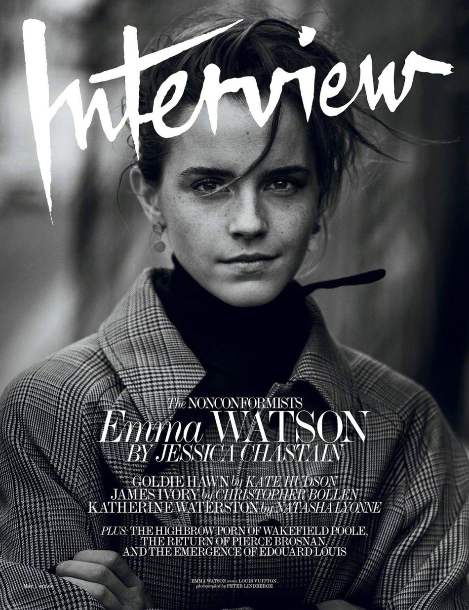 高清套图:艾玛-沃特森登杂志封面 走成熟女人路线