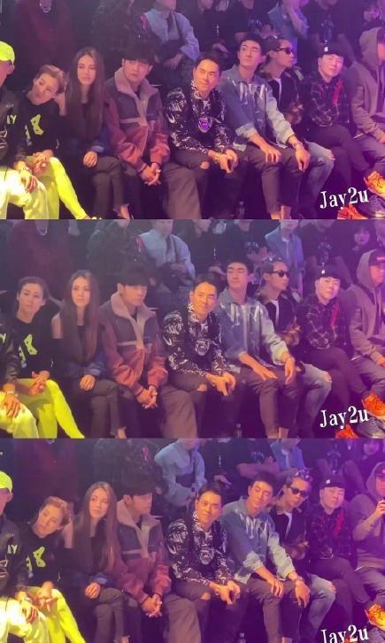 林更新秀场偷瞄周杰伦 粉丝:像极了追星的我——上海热线新闻频道